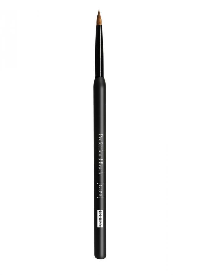 Кисть для губ Lip BrushКисти<br>Кисть для губ Lip Brush создана для нанесения помады и блеска для губ, а также для коррекции и растушевки линии контурного карандаша. Удобная продолговатая форма кисти гарантирует безупречный и профессиональный результат и идеально прокрашивает труднодоступные зоны.<br>