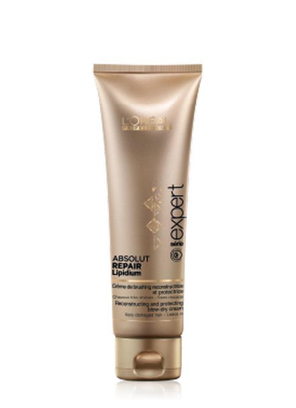 Термо-крем Absolut Repair Lipidium 125 млКондиционер<br>Термо - крем создан для реконструкции и защиты волос во время укладки. Под воздействием тепла он позволяет восстановить и разгладить волосы, облегчить укладку. Волосы становятся более сильными, мягкими и блестящими.<br>