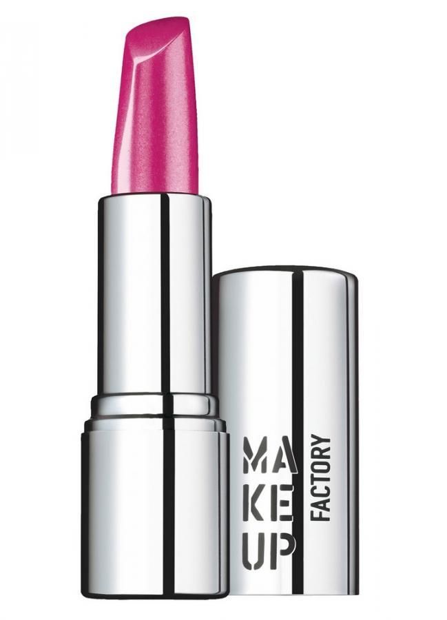 Помада для губ кремовая Веселый розовый MAKE UP FACTORYПомада для губ<br>Помада для губ Lip Color кремовой текстуры удивительно мягкая и комфортная в использовании. Прекрасно распределяется по поверхности губ и смягчает их.<br>В зависимости от цвета, текстура помады варьируется от интенсивного -&amp;nbsp;&amp;nbsp;к прозрачному с шелковистым блеском. Удобный «кончик» помады идеален для аккуратного нанесения.<br>Вес : 0.035; Цвет: Веселый розовый; RGB: 180,79,137;