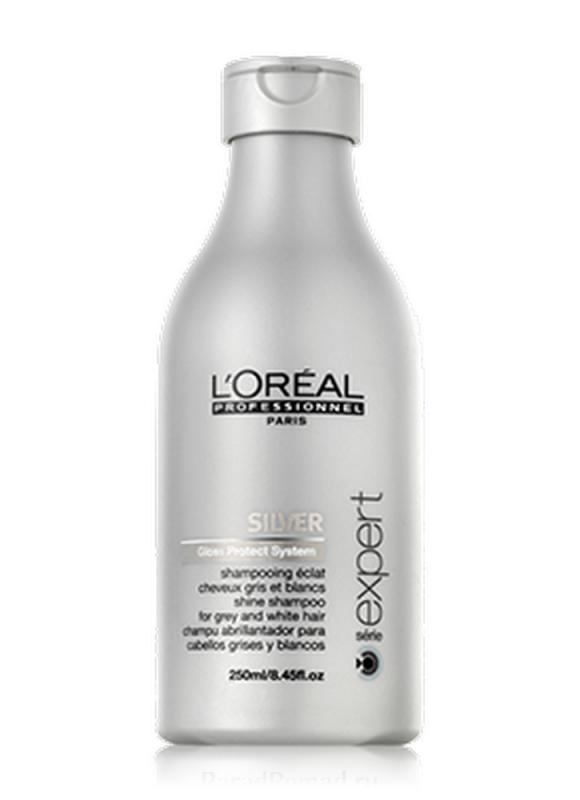 Шампунь Expert Silver 250 млШампуни<br>Очищающий шампунь для нейтрализации желтизны седых волос избавляет седые волосы от эффекта желтизны. Придает сияние и блеск волосам. Система защиты блеска с аминокислотами и веществами нейтрализует желтизну и сохраняет красоту ваших волос.<br>