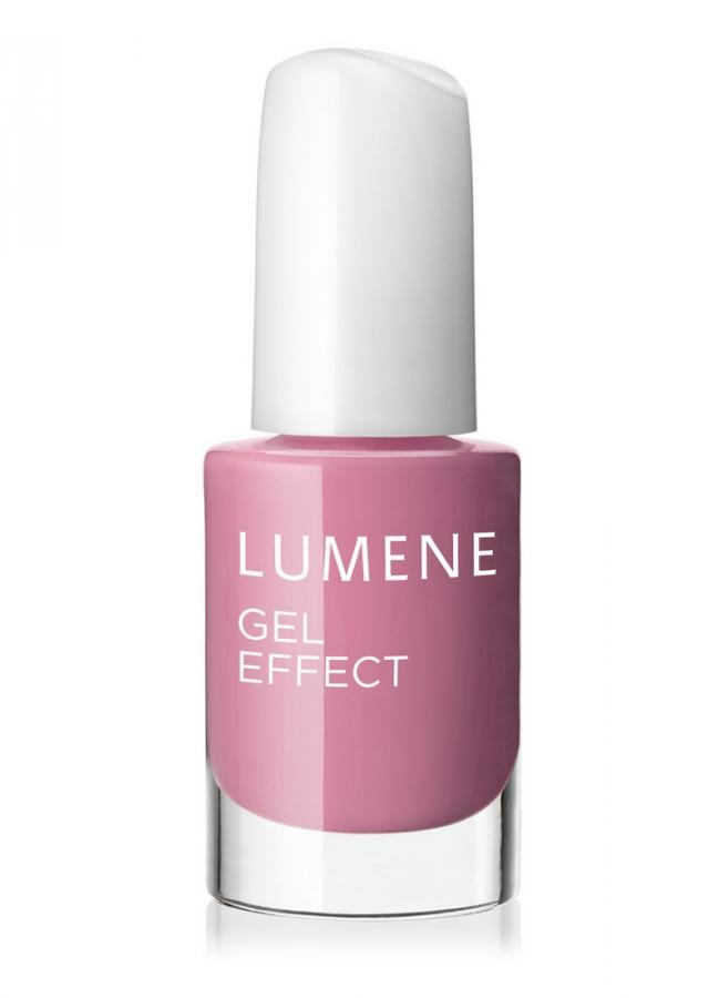 LUMENE Лак для ногтей с гелевым эффектом 2015 Gel Effect Nail Polish тон 4 Клубничный зефир