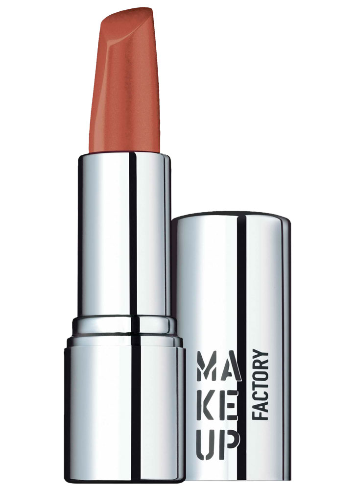 Помада для губ кремовая Мягкий коричневый MAKE UP FACTORY Lip Color фото
