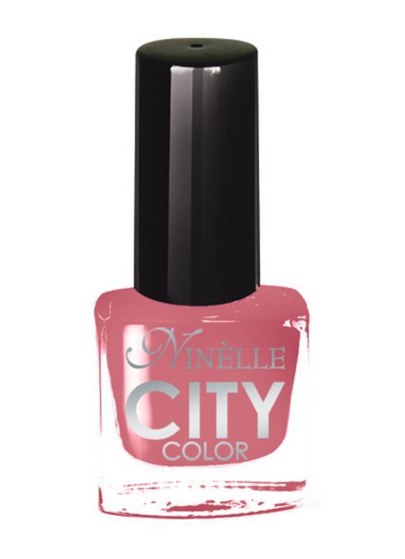 Лак для ногтей City Color тон 166 Розово-терракотовыйЛак для ногтей<br>Новейшие тенденции маникюра и потребности современных женщин вдохновили марку Ninelle на создание новой коллекции лаков для ногтей CITY COLOR от NinelleФормула уникальна и безупречна: лак быстро сохнет, гарантирует идеальную цветопередачу и потрясающий блеск, а также непревзойденную стойкость. Лак для ногтей City color выравнивает поверхность ногтя, делая его идеально гладким и безупречно глянцевым. Высокая концентрация пигментов и новая кисть заметно упростили маникюрную процедуру - лаки теперь можно наносить одним слоем. Удобная кисточка поможет распределить лак быстро и с максимальной точностью, что позволяет равномерно нанести лак даже на короткие ногти. Богатая цветовая гамма позволяет выбрать прекрасный вариант для любого повода. В состав входят ухаживающие компоненты, предотвращающие повреждения ногтей. И еще одно удобство для жительниц мегаполисов - лак снимается настолько легко, что его можно менять так часто, как Вы пожелаете. Подходит для натуральных и искусственных ногтей.<br>Цвет: Розово-терракотовый;
