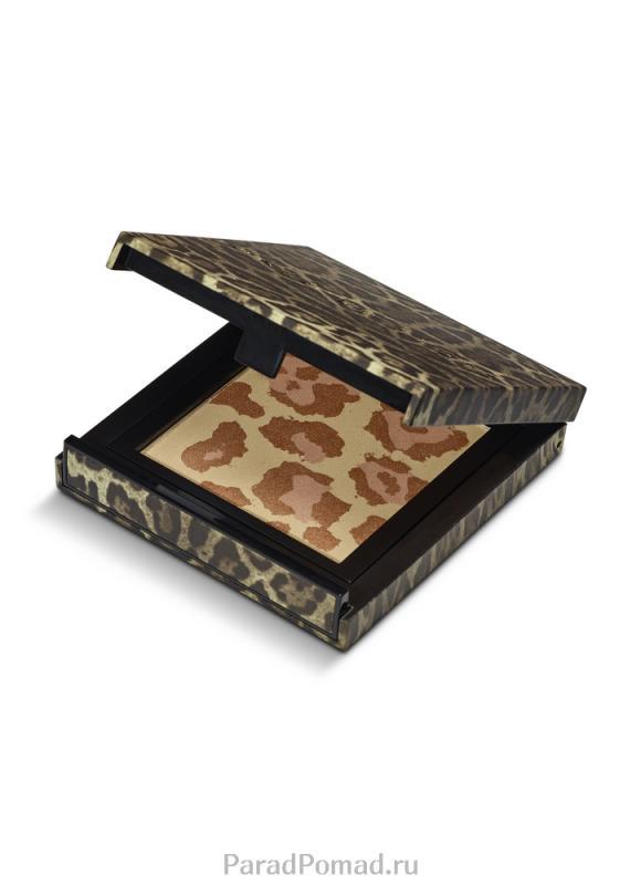 Пудра для лица бронзирующая тон 94 LeopardБронзаторы<br>Специально отобранные ингредиенты создают формулу продукта высокого качества. Использование бронзовой пудры в макияже придает свежесть, создает эффект загорелого лица, подчеркивает естественную структуру и тонус кожи.<br>Цвет: Leopard;