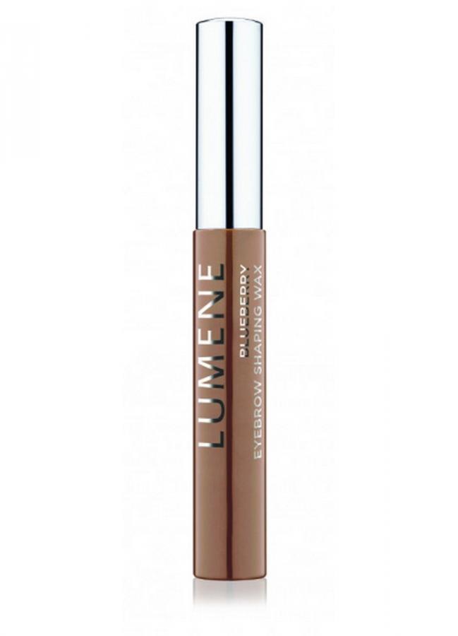 LUMENE Воск для бровей моделирующий Eyebrow Shaping Wax Blueberry тон 2 Светло-коричневый