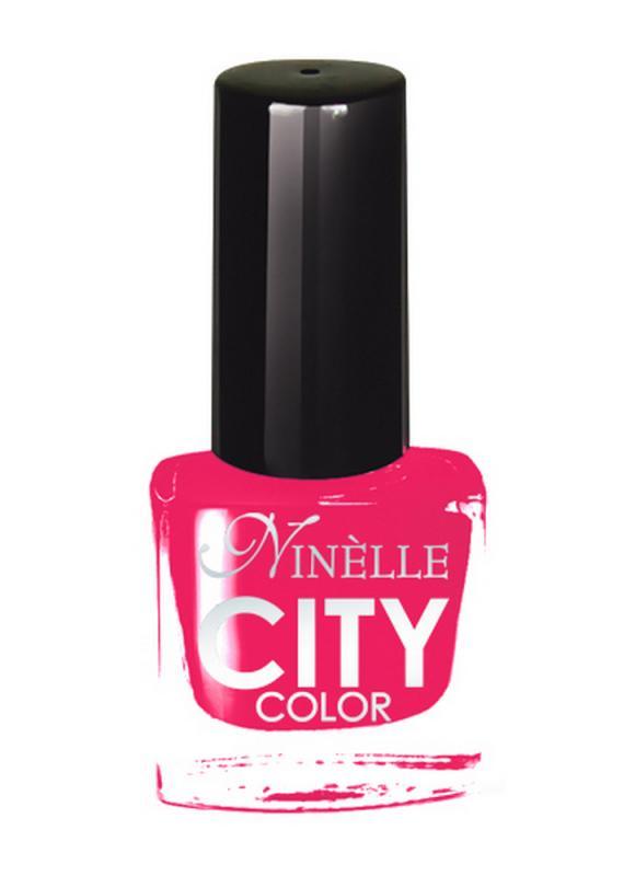Лак для ногтей City Color тон 153 Чудесный розовыйЛак для ногтей<br>Новейшие тенденции маникюра и потребности современных женщин вдохновили марку Ninelle на создание новой коллекции лаков для ногтей CITY COLOR от NinelleФормула уникальна и безупречна: лак быстро сохнет, гарантирует идеальную цветопередачу и потрясающий блеск, а также непревзойденную стойкость. Лак для ногтей City color выравнивает поверхность ногтя, делая его идеально гладким и безупречно глянцевым. Высокая концентрация пигментов и новая кисть заметно упростили маникюрную процедуру - лаки теперь можно наносить одним слоем. Удобная кисточка поможет распределить лак быстро и с максимальной точностью, что позволяет равномерно нанести лак даже на короткие ногти. Богатая цветовая гамма позволяет выбрать прекрасный вариант для любого повода. В состав входят ухаживающие компоненты, предотвращающие повреждения ногтей. И еще одно удобство для жительниц мегаполисов - лак снимается настолько легко, что его можно менять так часто, как Вы пожелаете. Подходит для натуральных и искусственных ногтей.<br>Цвет: Чудесный розовый;