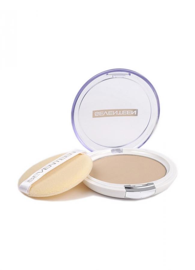 Пудра полупрозрачная с алоэ вера и защитным фактором SPF15 Карамель SEVENTEEN Natural Silky Transparent Powder фото