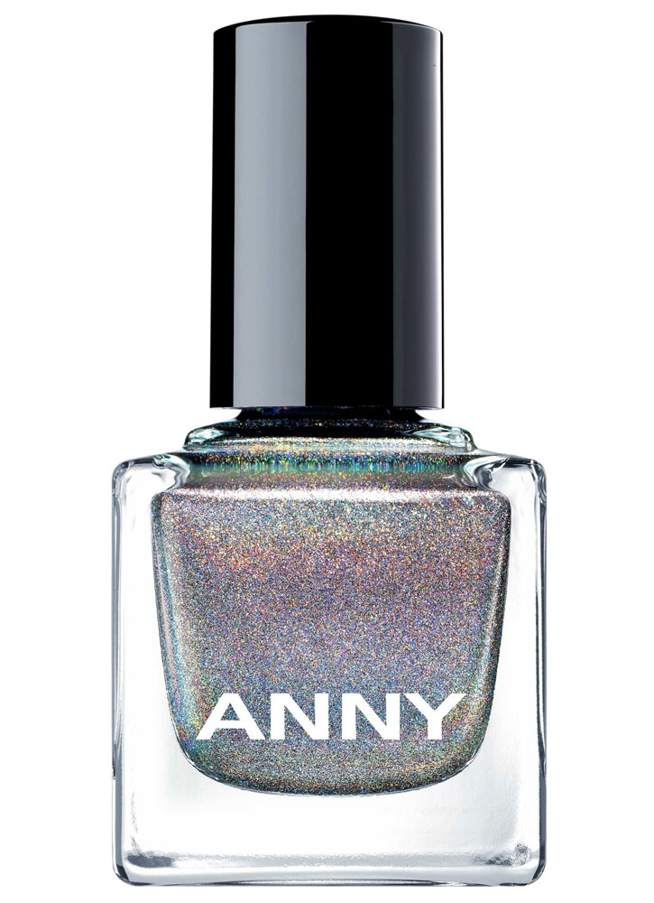 Лак для ногтей Голографик темно-серый ANNY Shades фото