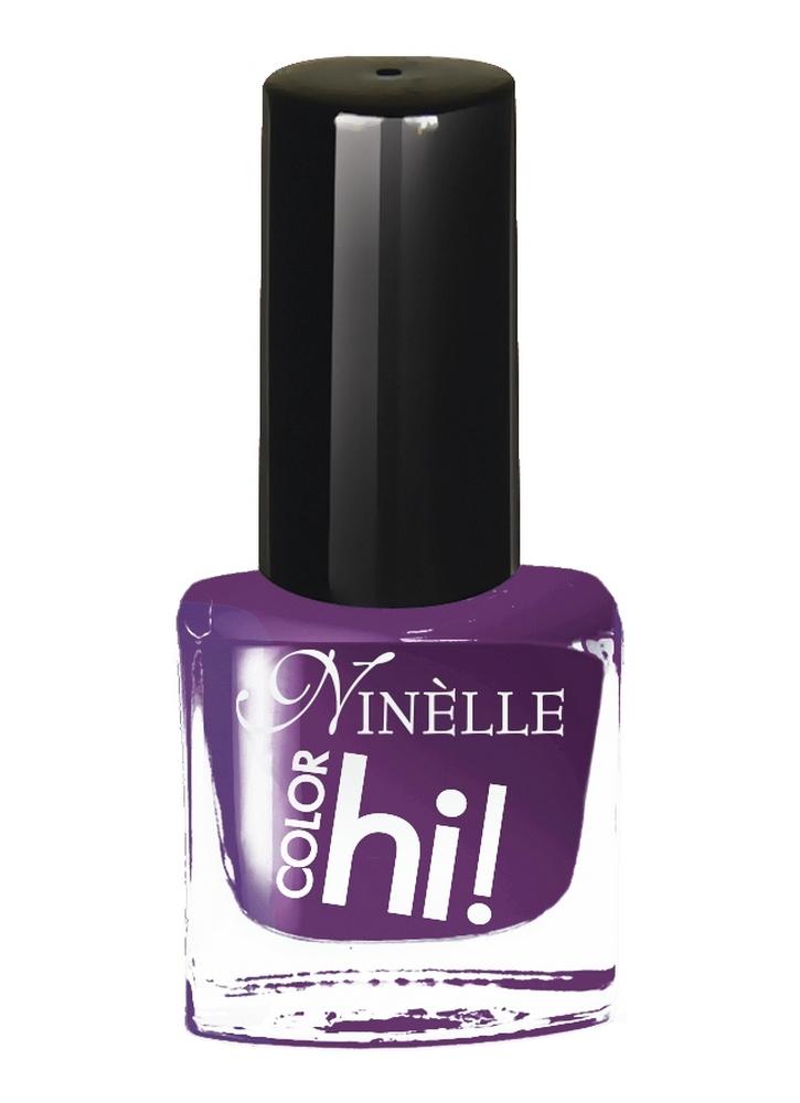 Лак для ногтей HI!Color тон 64 ФиолетовыйЛак для ногтей<br>Лак для ногтей HI COLOR от Ninelle – это абсолютный цвет, ультра-сияние и стойкость. В новой коллекции 15 ультрасовременных оттенков для идеального маникюра с эффектами, от которых невозможно отказаться!<br>Цвет: Фиолетовый;