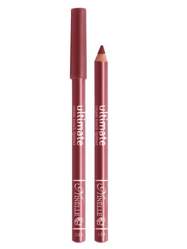 Карандаш для губ Ultimate тон 332 РозовыйКарандаш для губ<br>Мягкий карандаш для создания идеального контура губ. Благодаря своей активной ухаживающей формуле и нежной, кремовой текстуре средство обеспечивает легкость нанесения и ощущение комфорта. Мягкий грифель карандаша легко скользит по коже, оставляя яркую, чистую линию, высокой точности, которая в течение всего дня сохраняет идеальную форму губ. Контурный карандаш с приятной, кремовой текстурой обогащен маслами и восками, смягчающими и питающими губы. Карандаш очень долго держится на губах. Позволяет моделировать контур губ, повышает стойкость губной помады или блеска, может наноситься на всю поверхность губ вместо помады. Предотвращает растекание помады или блеска.<br>Цвет: Розовый;