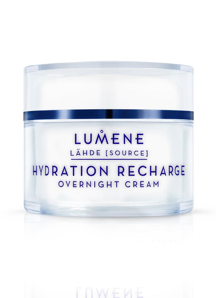 Крем ночной увлажняющий восстанавливающий LUMENE Hydration Recharge Overnight Cream