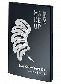 Набор трафаретов для бровей Eye Brow Tool Kit MAKE UP FACTORY